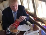 """Thế giới - Lý do bất ngờ khiến Trump """"nghiện"""" đồ ăn nhanh"""