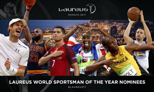 Tin thể thao sáng 9/2: Murray, Bolt, Ronaldo lại tranh giải