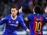 Bóng đá - So sánh Hazard với Messi: Vì anh xứng đáng