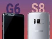 Điện thoại - Samsung Galaxy S8 vs LG G6: Cuộc đối đầu thú vị