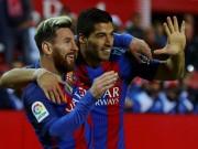 Bóng đá - Messi - Suarez vượt Ronaldo - Bale, phá kỷ lục 47 năm