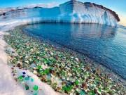 Du lịch - Khám phá bãi biển đá cuội từ thủy tinh ở Nga
