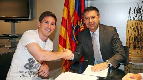 Vung 100 triệu bảng, Man City phá ngang Messi - Barca