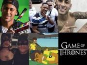 """Bóng đá - 24 """"kỳ thú"""" về Neymar: Mê đóng phim, cực thân Messi"""