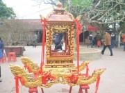 Chiêm ngưỡng kiệu rước ấn đền Trần Nam Định