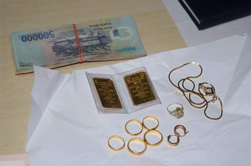 Trộm hơn 100 lượng vàng đi gửi tiết kiệm