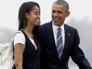 """Điều ít biết về  """" thiên kim tiểu thư """"  của cựu Tổng thống Obama"""