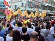 Ngàn người xem biểu diễn Tết Nguyên tiêu của người Hoa ở Sài Gòn
