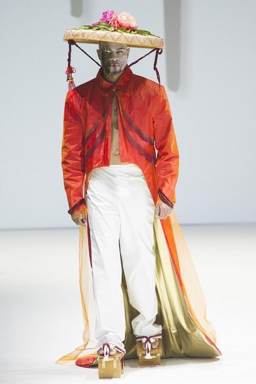 Nón quai thao Việt lên sàn thời trang quốc tế 3
