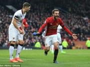 """Bóng đá - MU cán mốc lịch sử, Mourinho vẫn """"đầu hàng"""" Chelsea"""