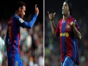 """Bóng đá - Neymar vượt Ro """"vẩu, Barca buồn thiu vì Vidal"""