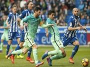 Bóng đá - Đua phá lưới ở Liga: Messi, Suarez bứt phá Ronaldo