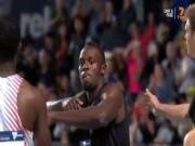 """Thể thao - Usain Bolt chạy như đi bộ, vẫn cho đối thủ """"hít khói"""""""