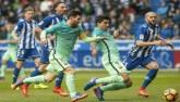 Đua phá lưới ở Liga: Messi, Suarez bứt phá Ronaldo