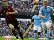 Bournemouth - Man City: Không thắng là có tội