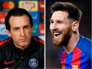 Bóng đá - Gặp Barca vòng knock-out C1: HLV PSG sợ Messi một phép