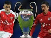 Bóng đá - Lượt đi vòng 1/8 Cúp C1: Arsenal và PSG mơ đổi vận