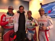 Tennis 24/7: Federer gây bất ngờ với thử thách trượt tuyết
