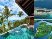 """"""" Lạc mất trái tim """"  ở những hòn đảo lãng mạn nhất thế giới"""