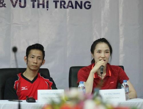 Cầu lông châu Á: Vợ chồng Tiến Minh khổ chiến Thái Lan