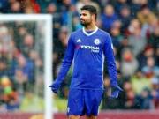 """Bóng đá - Chelsea – Conte lo lắng: Costa bắt đầu """"tịt ngòi"""""""