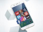 Ra mắt Oppo F1s 2017 dùng RAM 4GB