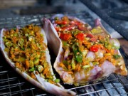 Ẩm thực - Ngày lạnh, lai rai cá chai nướng ngũ vị thơm lừng