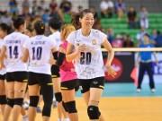 Thể thao - Bóng chuyền: Kim Huệ vui giải làng, Ngọc Hoa bùng nổ xứ người