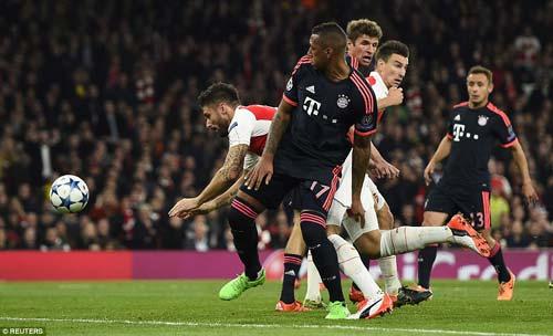 """Bayern Munich – Arsenal: Ngán gì không vuốt râu """"Hùm"""" - 1"""