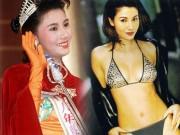 """Thời trang - Hoa hậu đẹp nhất Hương cảng khét tiếng """"sát"""" đại gia"""