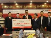 """Lần đầu có người Hà Nội lãnh jackpot  """" khủng """" : Hơn 31 tỉ"""