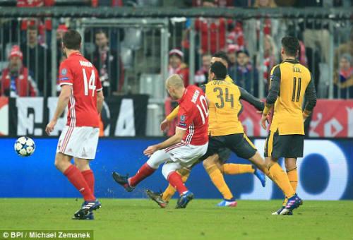 Bayern Munich - Arsenal: Không có gì bất ngờ