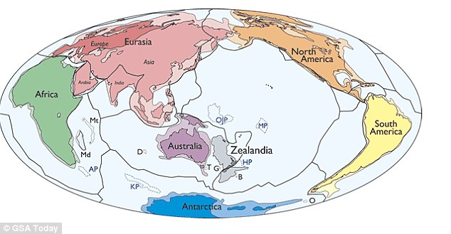 Phát hiện cả một châu lục mới ở Thái Bình Dương? - 2