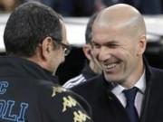 Bóng đá - Real hạ Napoli: Zidane hứng khởi, học trò cẩn trọng