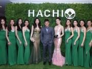 Tin tức giải trí - Hồng Đăng rạng rỡ bên 2 Á hậu trong buổi ra mắt mỹ phẩm HACHI