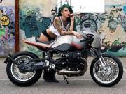 """Thế giới xe - Mê mẩn BMW Motorrad R nineT """"Saline"""" độ đậm chất Ý"""