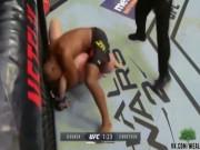 """Thể thao - UFC: """"Ronaldo Brazil"""" tung đòn knock-out độc nhất"""