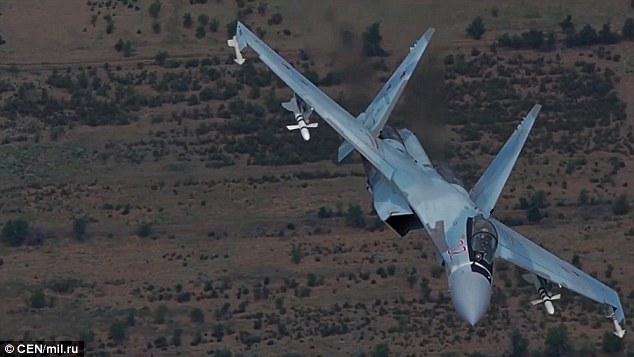 Nga tung video máy bay át vía mọi chiến đấu cơ Anh, Mỹ - ảnh 1