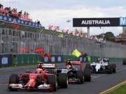 Thể thao - Lịch thi đấu F1: Australian GP 2017