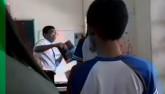 Sốc: Thầy giáo và nữ sinh đánh nhau trong lớp học