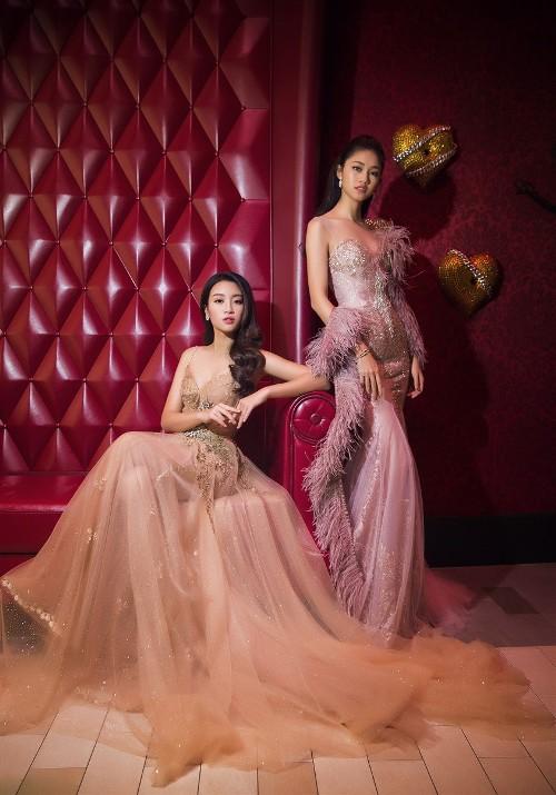 Mỹ Linh, Thanh Tú đẹp tựa nữ thần với váy đầm lộng lẫy - 10