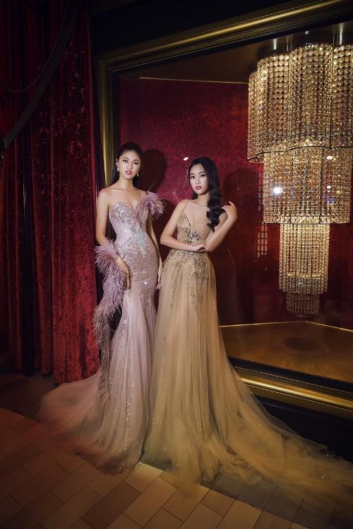 Mỹ Linh, Thanh Tú đẹp tựa nữ thần với váy đầm lộng lẫy - 11