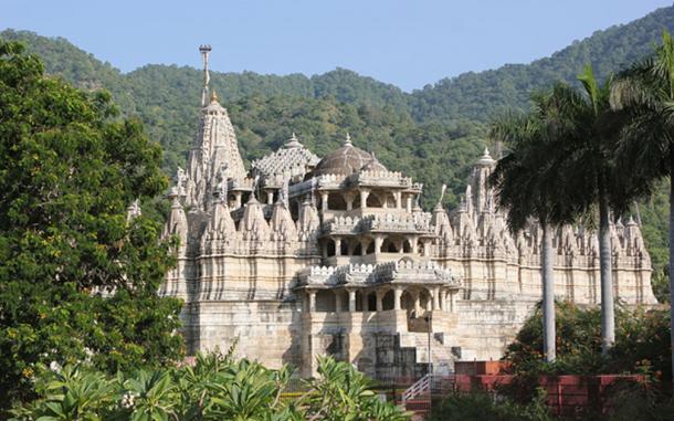 Ngôi đền với 1444 cột đá trang trí khác nhau xây dựng trong 50 năm - 1