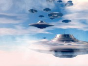 Video: Phi đội UFO bất ngờ bay qua trạm vũ trụ ISS?