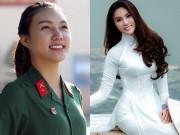 Bạn trẻ - Cuộc sống - Nữ tân binh nhập ngũ đang gây sốt từng thi Hoa hậu VN
