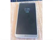 Lộ ảnh LG G6 camera kép, cảm biến dấu vân tay ở mặt sau