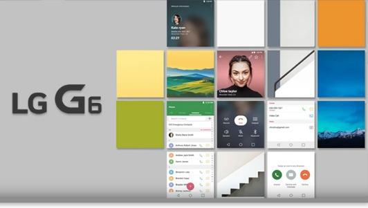 """Toàn cảnh màn hình """"Full Vision"""" tỷ lệ 9:18 trên LG G6"""