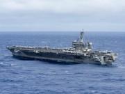 Mỹ điều tàu sân bay tuần tra Biển Đông