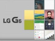 """Toàn cảnh màn hình  """" Full Vision """"  tỷ lệ 9:18 trên LG G6"""