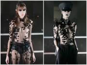 Thời trang - Dàn mẫu để ngực trần, trình diễn thời trang siêu thực